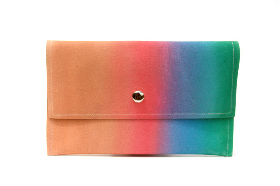 Gradient Wallet/Clutch